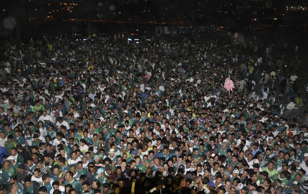 Torcida - Goiás x Fluminense (Foto: Guilherme Gonçalves / Globoesporte.com)