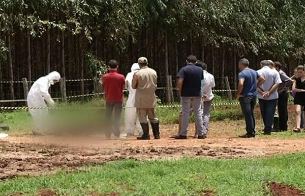 André Ferreira Santana, mototaxista assassinado em Petrolina de Goiás (Foto: Reprodução/TV Anhanguera)