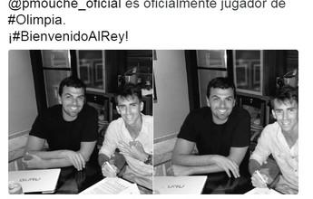 Clube paraguaio anuncia acerto com Mouche, ainda jogador do Palmeiras