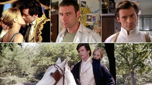 Hugh Jackman precisou aprender montaria para papel em 'Kate E Leopold'  (Foto: reprodução/divulgação)