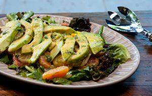 Salada cítrica de abacate