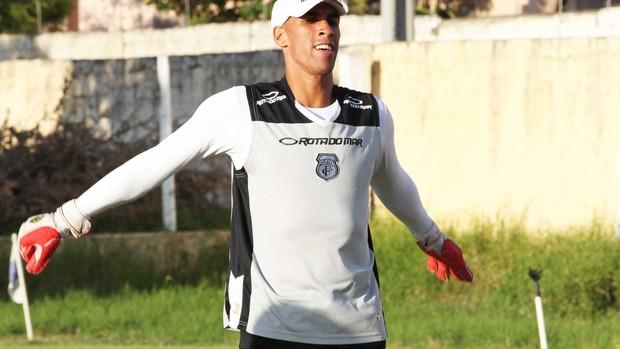 Gilberto, goleiro do Treze (Foto: Magnus Menezes)