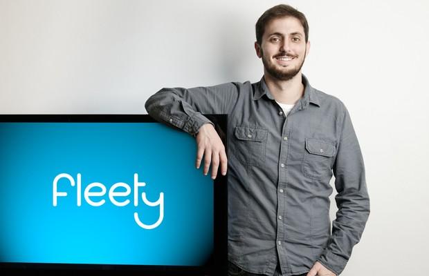 André Marim, CEO do Fleety, plataforma de compartilhamento de carros (Foto: Divulgação)