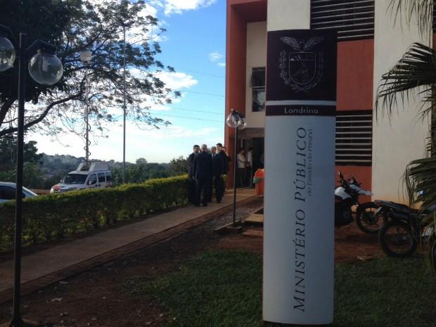 Sede do Ministério Público do Paraná em Londrina (Foto: Lucas Pullin/RPC)