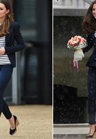 Kate Middleton repete look baratinho da rede fast-fashion Zara
