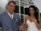 Ex-BBB Rogério Padovan se casa em Ilhabela e reúne famosos