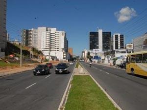 Reta da Penha ficará interditada para obras da Cesan. (Foto: Carlos Antolini / Divulgação PMV)
