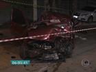 Acidente envolvendo três carros deixa quatro feridos no Grajaú