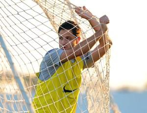 Martinez treino Corinthians (Foto: Marcos Ribolli / Globoesporte.com)