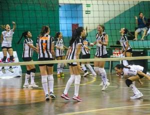 Santos vôlei feminino sub-19 (Foto: Marcelo Camargo / Divulgação)