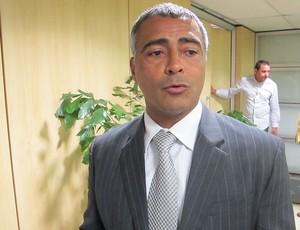 Romario, CBF (Foto: Marcelo Baltar / Globoesporte.com)