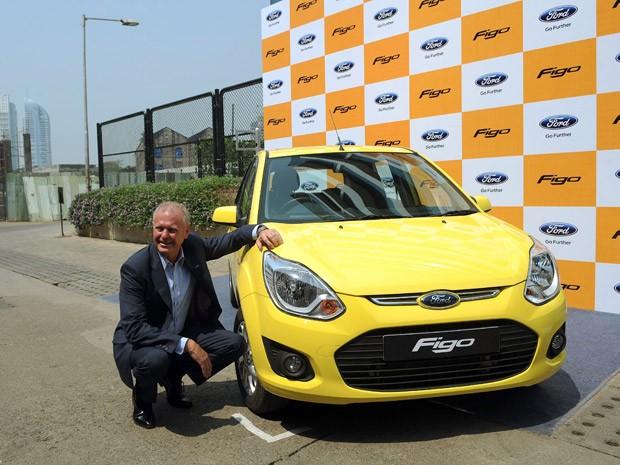Ford Figo ganha 'cara global' na Índia (Foto: Divulgação)