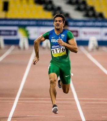 Edson Cavalcante Pinheiro no Mundial de Atletismo Paralímpico (Foto: Daniel Zappe/MPIX/CPB)