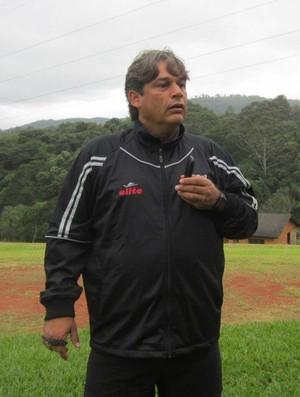 Marcelo Veiga, técnico do Botafogo-SP (Foto: Rafael Martinez/Ag. Botafogo)