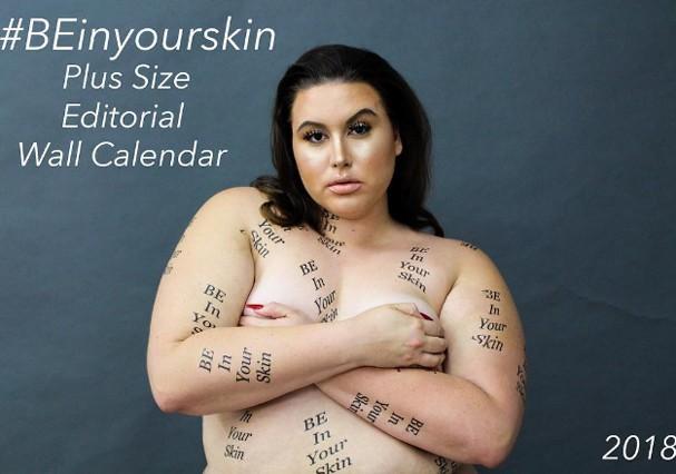 Blogueiras plus size estampam calendário (Foto: Divulgação)