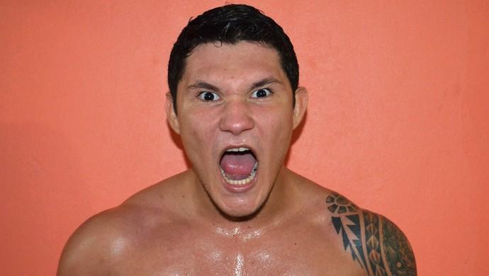 Deroci Barbosa, lutador acreano (Foto: Duaine Rodrigues)