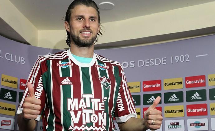 Henrique, Fluminense (Foto: Nelson Perez/ Fluminense FC)