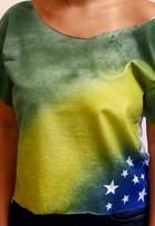 Veja vídeo e aprenda a customizar camiseta para torcer pelo Brasil
