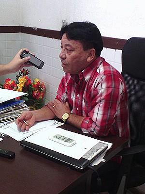 Deurivan Sampaio, diretor-geral do Liceu Maranhense (Foto: João Ricardo Barbosa / G1)