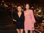 Addison Timlin e Lauren Kate vão à pré-estreia de 'Fallen' em São Paulo