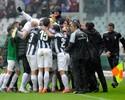 Juventus define no finzinho, vence clássico e está a um empate do título