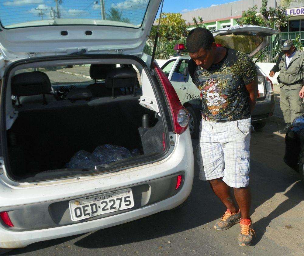 Suspeito é recapturado após fugir de hopital em Jaicós  (Foto: David Bezerra/cidadesnanet.com)