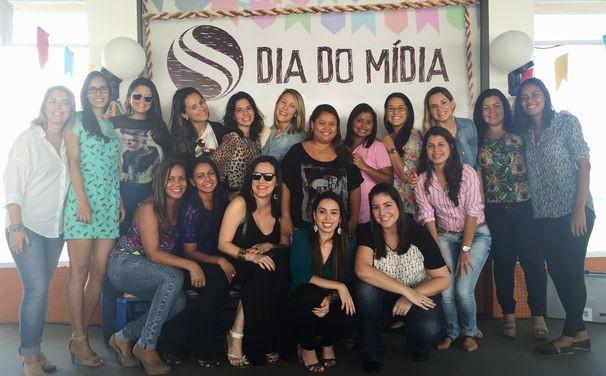 Dia do Mídia é celebrado pela TV Sergipe (Foto: Divulgação/TV Sergipe)