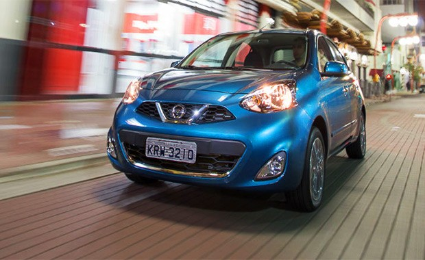 Nissan New March (Foto: Marcos Camargo/Autoesporte)