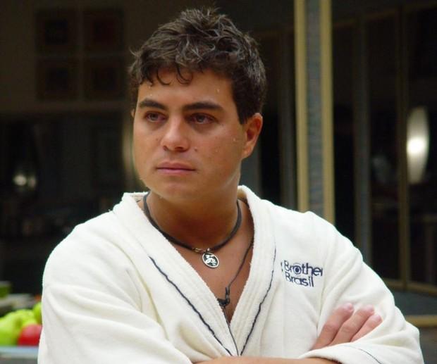Dhomini, no BBB 3 (Foto: Divulgação Globo)