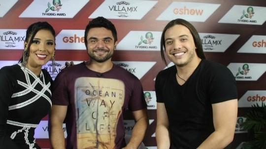 Confira as atrações que bateram papo com Dan e Niara no Villa Mix Fortaleza