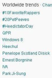 Trending Topics no Mundo (Foto: Reprodução)