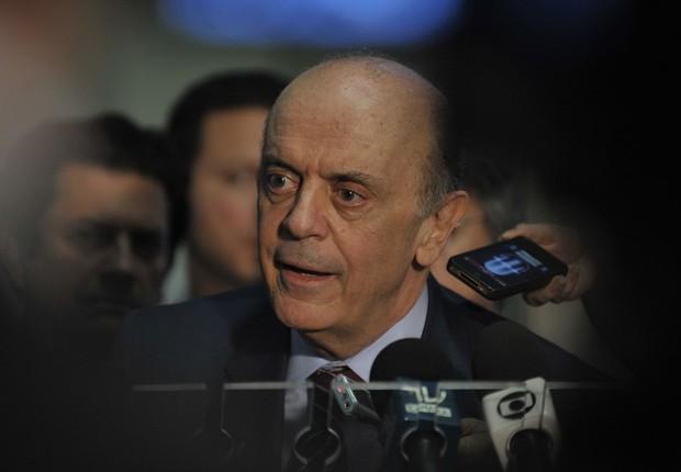 José Serra (Foto: Renato Araújo/Agência Brasil)