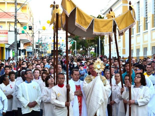 Agudos prepara procissão de Corpus Christi  (Foto: Divulgação/ Paróquia São Paulo )