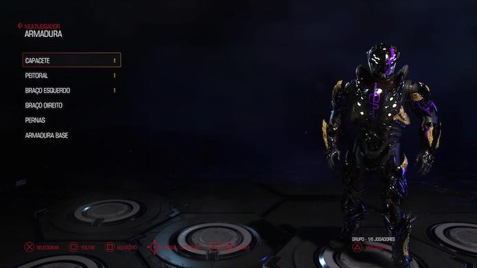 Doom: como mudar a aparência do personagem no multiplayer (Foto: Reprodução/Victor Teixeira)