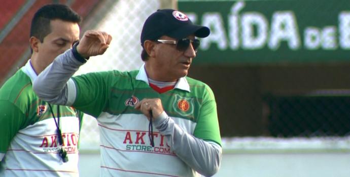 Vilson Tadei, técnico do Barretos (Foto: Reprodução EPTV)