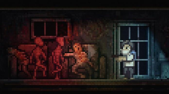 Lone Survivor é o único jogo da lista que consegue assustar em 2D (Foto: Reprodução/PS4 Blog)