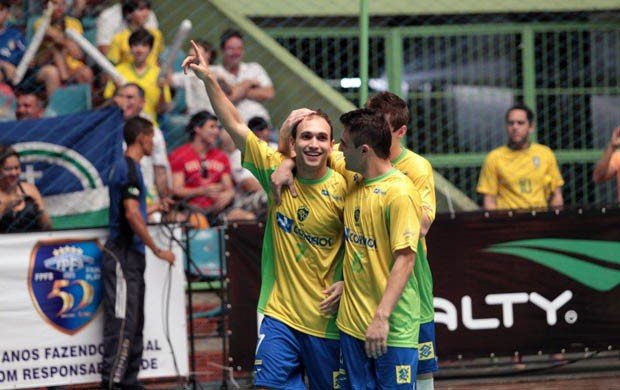 Brasil vence Costa Rica em amistoso de futsal (Foto: Zerosa Filho/CBFS)
