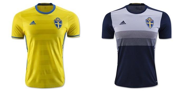 Camisas Eurocopa suecia