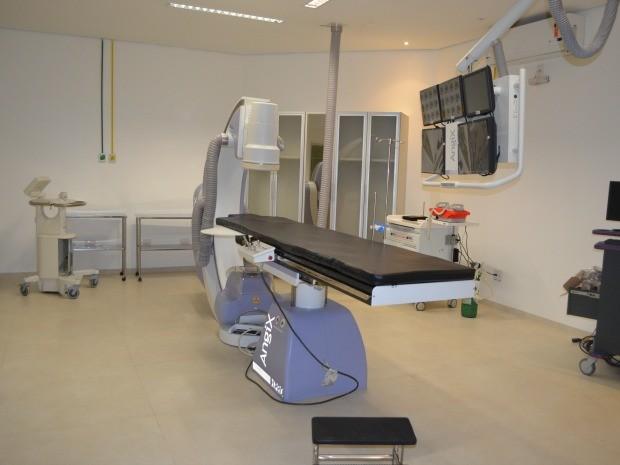 Após liberado, espaço poderá realizar até 10 procedimentos de cateterismo e angioplastia por dia (Foto: Magda Oliveira/G1)