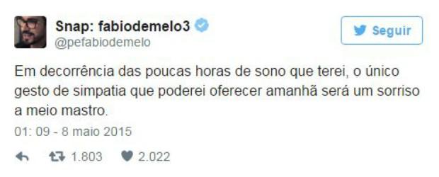 Padre Fabio de Melo fala de preguiça de manhã (Foto: Instagram / Reprodução)
