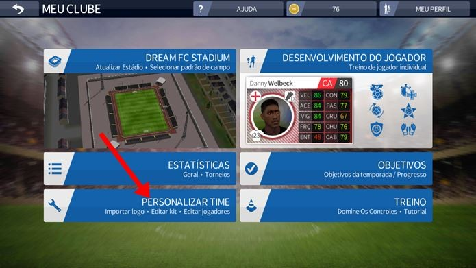 1eb98de657c Como baixar kits de Dream League Soccer 2016 no Android e iPhone ...