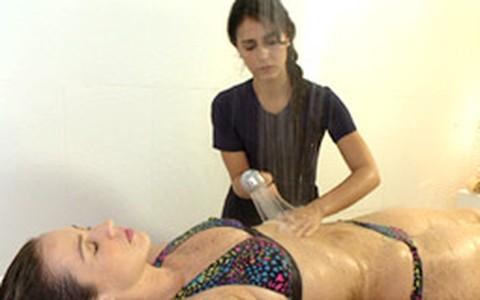 Olivoterapia: Luana Piovani testa tratamento para hidratar corpo e cabelo