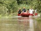 Nível dos rios Paranapanema e Pardo sobe e moradores saem de casa