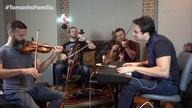 Família Lima toca músicas pedidas por Giovanna Lancellotti e César Menotti e Fabiano