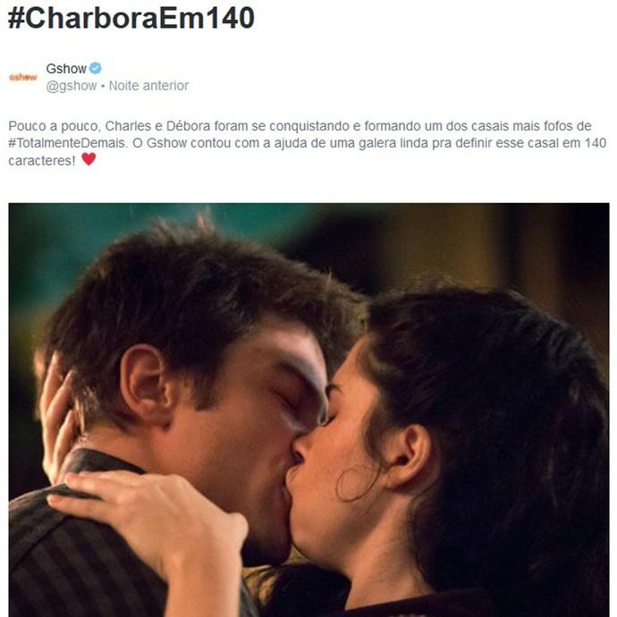 Charbora <3 (Foto: Gshow)