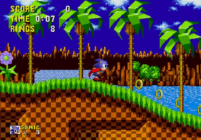 Sonic: The Hedgehog estava entre os favoritos do Mega (Foto: Reprodução)