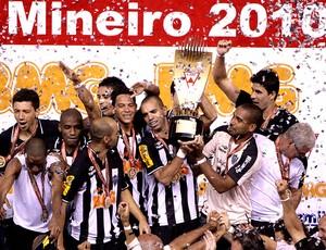 Atlético-MG campeão mineiro (Foto: Bruno Cantini / Site Oficial do Atlético-MG )