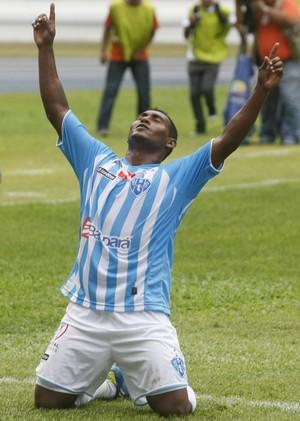 João Neto é um dos artilheiros do Parazão, com 10 gols marcados (Foto: Marcelo Seabra/O Liberal)