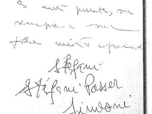Cartas psicografadas livro Kiss (Foto: Reprodução)