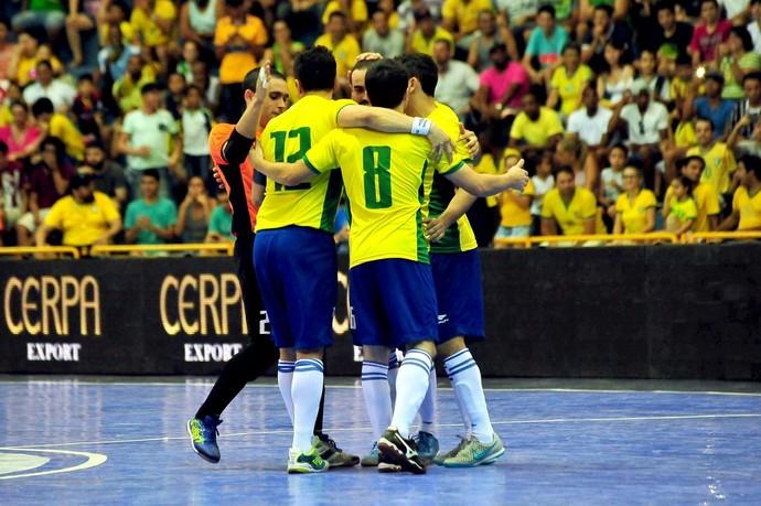 Brasil x Guatemala Grand Prix de Futsal 2015 (Foto: Ricardo Artifon / CBFS)